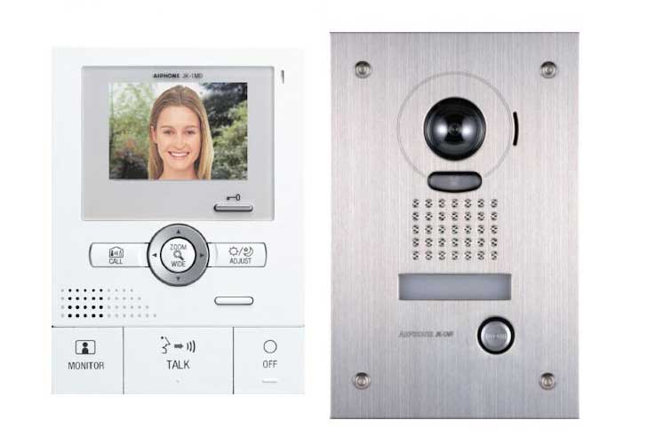 Intercom Systems - audio and video, wired and wireless - Clarke Security